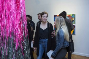 Opening Night at REVERB:CAPO's Emerging Artists' Prize exhibition for 2016